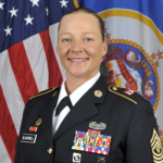 <p>CSM Katie Blackwell<br>Senior Enlisted</p>