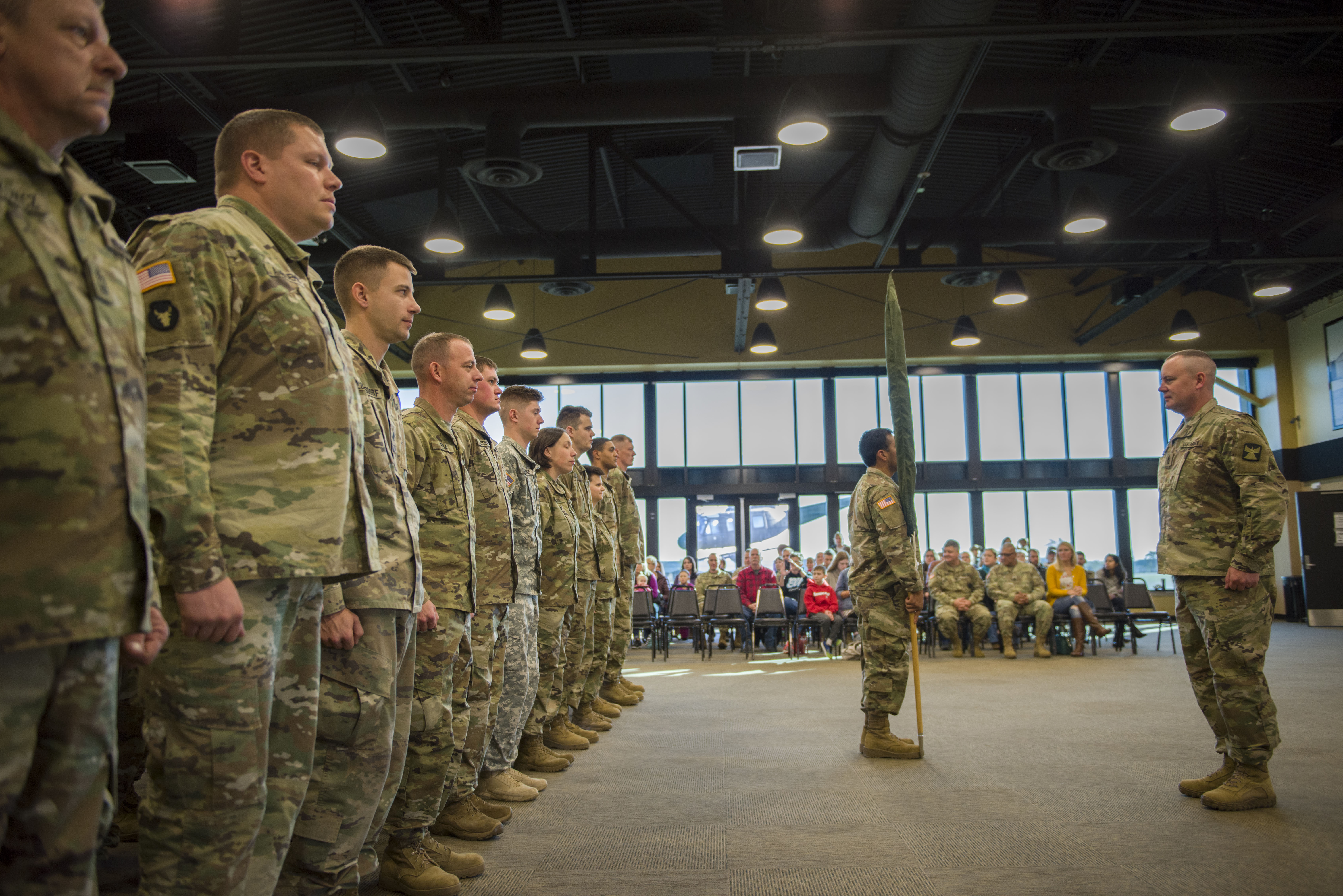 434th Support Maintenance Company activation